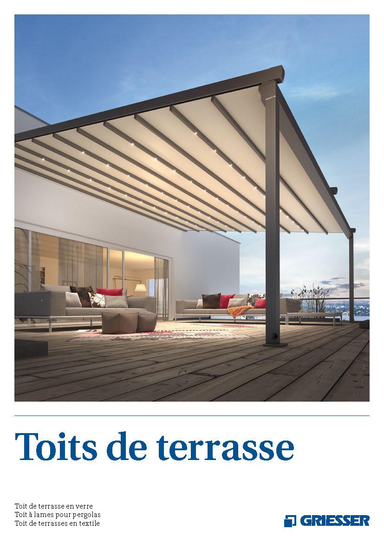 Toits de terrasse - Produits | Griesser Suisse
